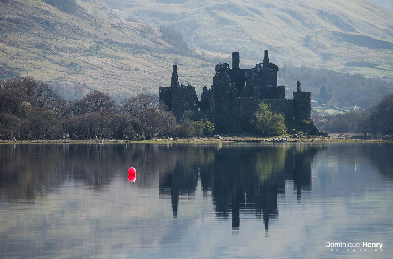 Chateau de Kilchurm Ecosse  Loch AWE